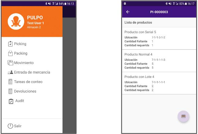 ES App Screenshot